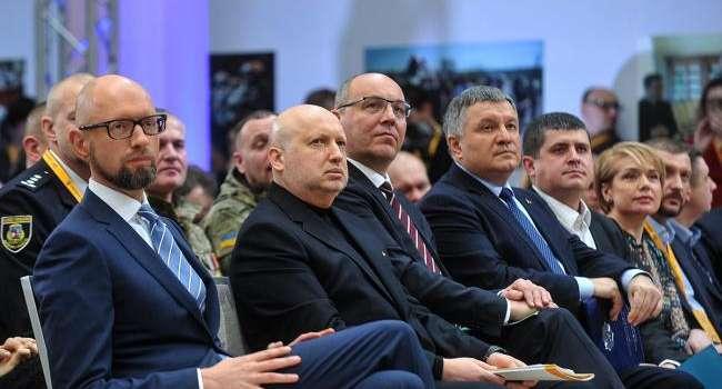 Что решат Турчинов и Парубий? Яценюк навал восстанавливать «Народный фронт»