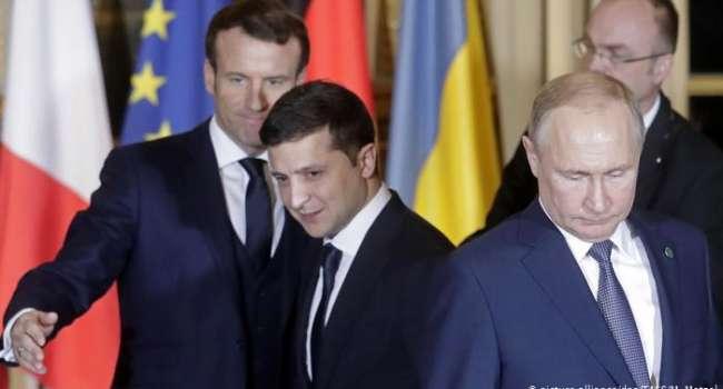Арестович: Меркель и Макрон согласились говорить с Зеленским, а Путин отказался