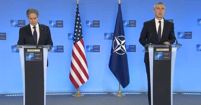 Блинкен и Столтенберг обсудили ситуацию с войсками РФ на границе с Украиной