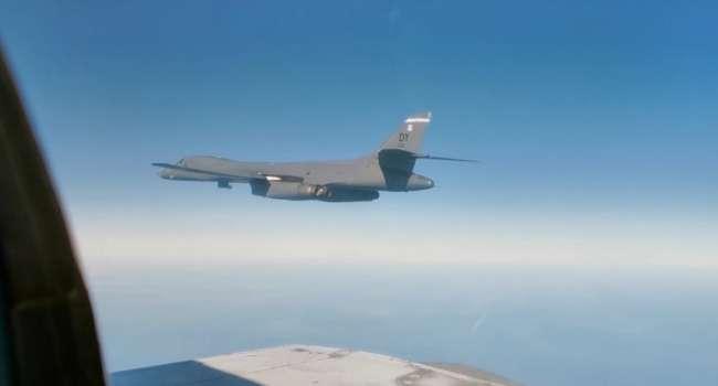В Минобороны России заявили о перехвате самолета ВВС США