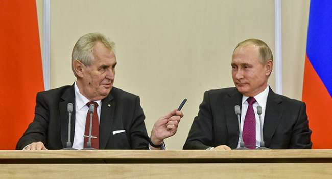 В России отреагировали на заявление Зеемана о причастности российских агентов к взрывам складов в Врбетице в 2014 году