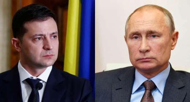 Политолог: Путин использует встречу с Зеленским для того, чтобы заявить потом на весь мир – в Украине идет гражданская война