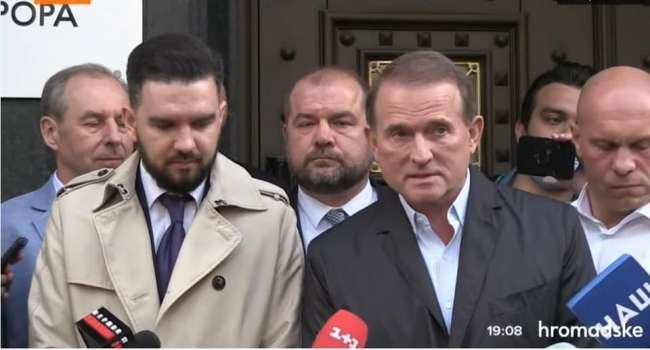 Политолог: Зеленский не нашел достаточно веских аргументов для «самодепортации» Медведчука из украинской политики
