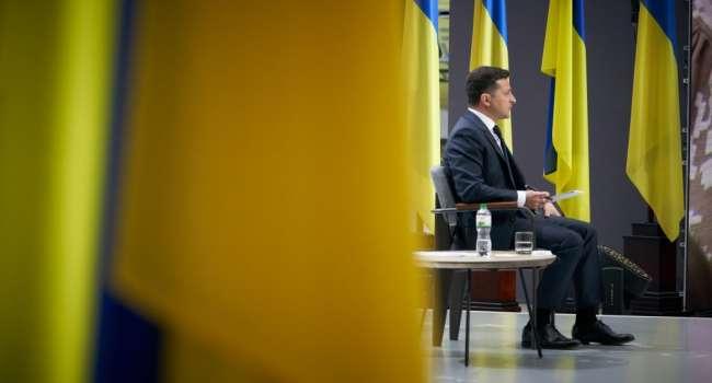 Тележурналист: после принятия анонсированного закона о статусе олигарха Зеленский должен подать в отставку