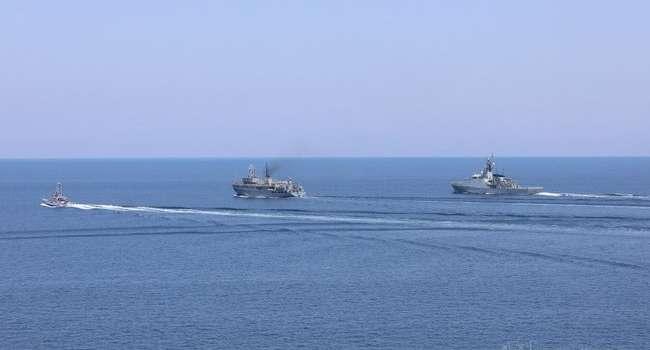 Украина и Великобритания провели совместные учения в Черном море