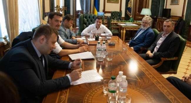 Политолог: президент уже забыл, как Коломойский заявил в одном из интервью, что «все олигархи в душе были за Зеленского»