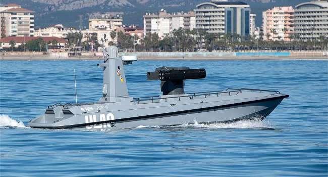 Новая эра в вооружении – Турция испытала беспилотный катер ULAQ – пилотируемый с поста на побережье