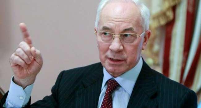 «Давайте трезво подумаем»: Азаров заявил, что война между Украиной и Россией продлится максимум неделю