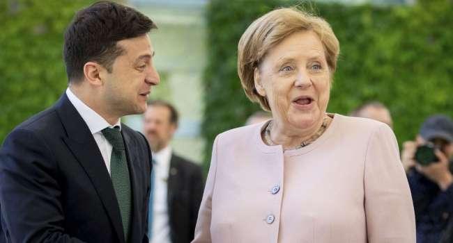 Политолог рассказал, какие темы могут обсуждаться на встрече Зеленского и Меркель