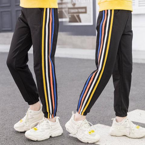 Подростковые спортивные брюки для девочек оптом